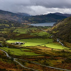 NANT GWYNANT VALLEY s by William Moore