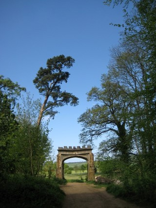 The Stone Arch - Badby Woods by Marianne Follett